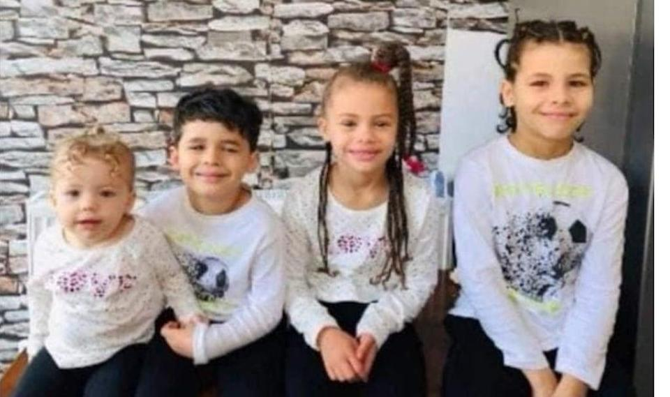 Zinayah Jackman, two; Marley Jackson, six; Zeah Jackman, seven; and Tyler Jackman, 11, have gone missing with their father and grandmother (Metropolitan Police/PA)