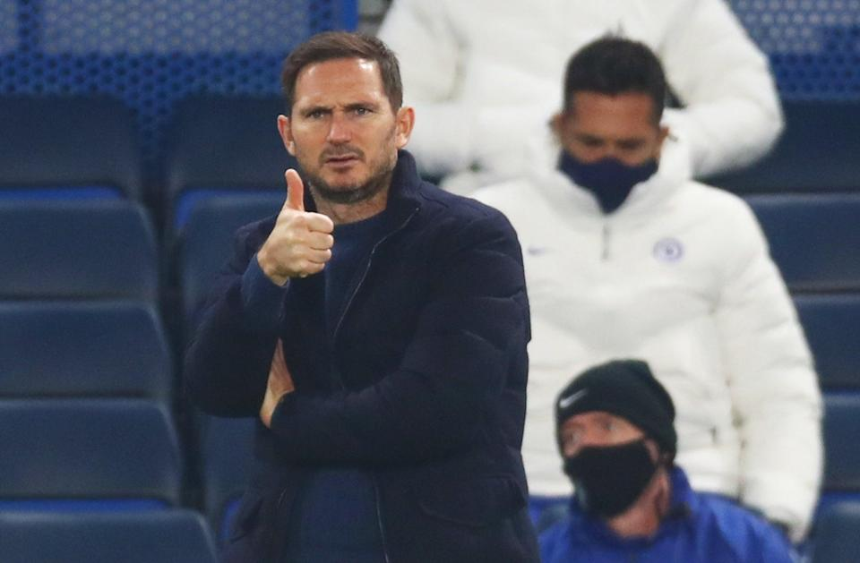 Frank Lampard's Chelsea take on Sheffield United in the  Premier League tonight (EPA)