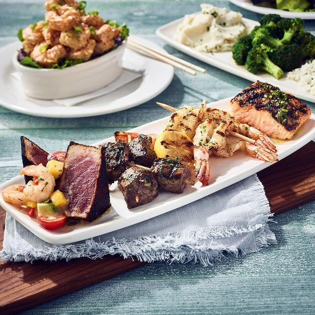 "<p>It's a restaurant geared around fish, so you know it's a keto-friendly place. Just stick with the grilled and seared proteins, including salmon, sea bass, steak, shrimp, trout, and so many more.</p><p><a href=""https://www.instagram.com/p/B2HlETilSBP/"" rel=""nofollow noopener"" target=""_blank"" data-ylk=""slk:See the original post on Instagram"" class=""link rapid-noclick-resp"">See the original post on Instagram</a></p>"