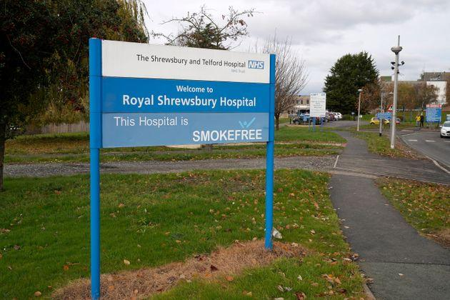 The Royal Shrewsbury Hospital is one of the sites run by Shrewsbury and Telford NHS Trust.