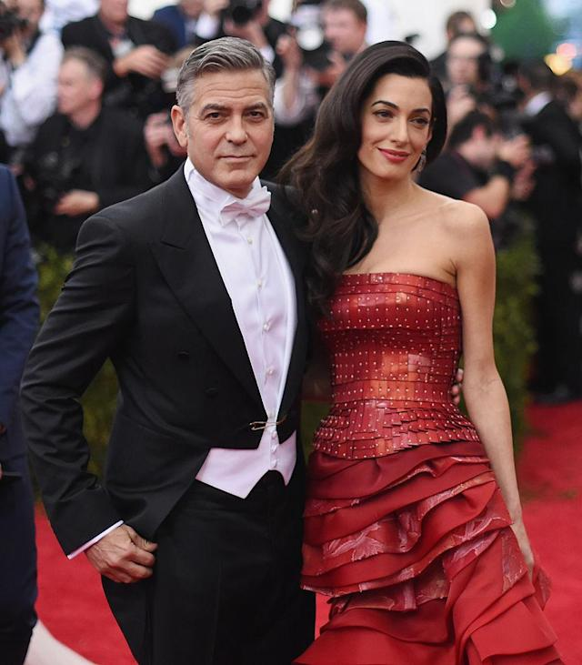 George and Amal Clooney (Photo: Getty Images)