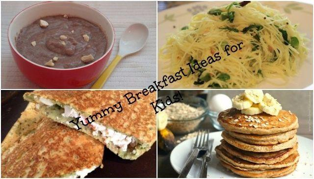 6 Quick And Easy Breakfast Recipes For Kids That They Can't Say no to!