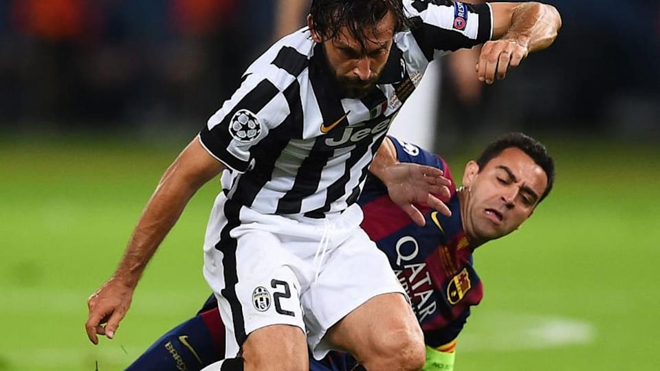 Xavi y Pirlo cara a cara | Laurence Griffiths/Getty Images