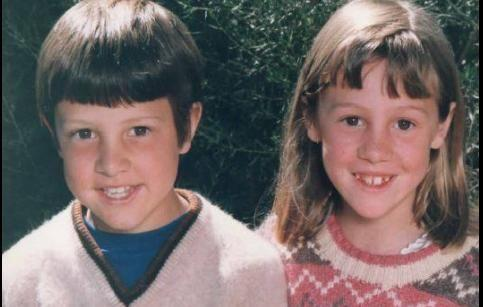 Samuel Johnson announced Connie's death on the Love Your Sister Facebook page on Friday night. Here the siblings are pictured together as kids. Source: Love Your Sister Facebook