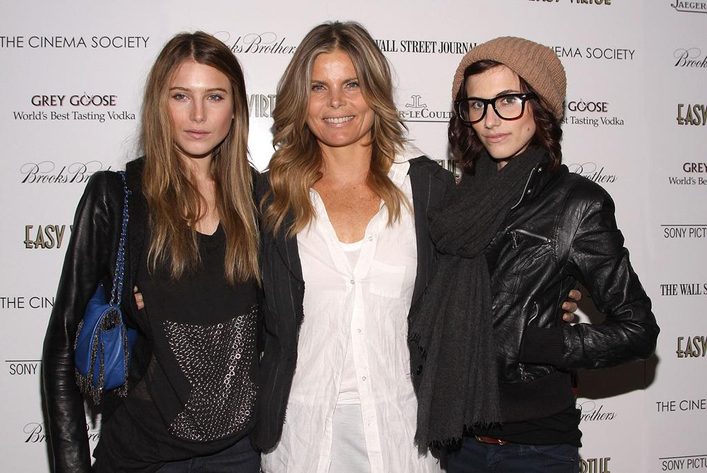 "<a href=""http://movies.yahoo.com/movie/contributor/1800051548"">Mariel Hemingway</a> with daughters Dree and Langley at the New York Cinema Society screening of <a href=""http://movies.yahoo.com/movie/1809765397/info"">Easy Virtue</a> - 05/11/2009"