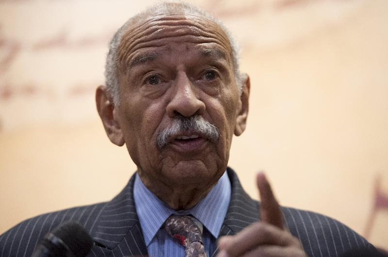 The 88-year-old representative from Detroit, a prominent civil rights activist, is the latest public figure to be accused of sexual harassment in an ever-widening scandal following the downfall of movie mogul Harvey Weinstein last month