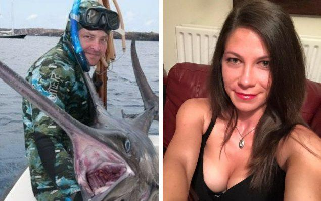 Titus Bradley is suspected of shooting his partner, Noemi Gergely, before killing himself - Facebook