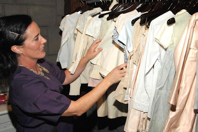 Kate Spade shopping in 2007. (Photo: Billy Farrell/PatrickMcMullan.com)
