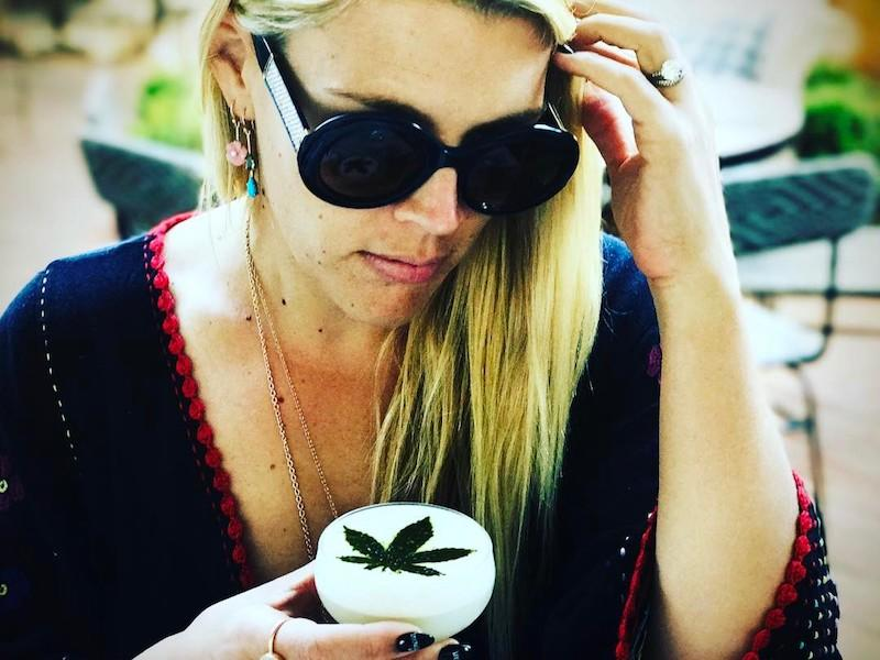 """<p>Is someone getting a head start on 4/20? Not quite. Busy Philipps captioned this pic, """"Remember yesterday when I ordered a matcha CBD oil margarita at 4:45pm??? I do. It was nice."""" (Photo: <a rel=""""nofollow"""" href=""""https://www.instagram.com/p/BSxbHJYFHNp/?taken-by=busyphilipps&hl=en"""">Busy Philipps via Instagram</a>)<br /><br /></p>"""
