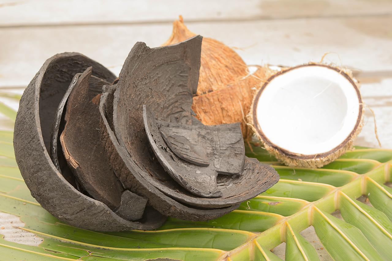 <p><strong>Mask:</strong> Activated charcoal draws bacteria, poisons, chemicals, impurities and other micro-particles to the surface of skin, helping you achieve flawless complexion. A DIY (Do-It-Yourself) Charcoal mask by blending activated bamboo charcoal, aloe vera gel, jojoba oil, tea tree oil and fuller's earth is the perfect anti-aging solution that your skin deserves. </p>