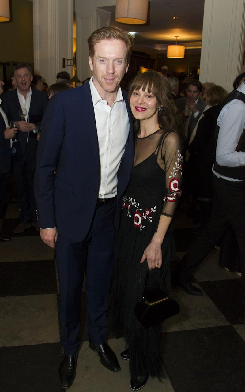 Damian Lewis and Helen McCrory The Goat - Credit: Dan Wooller/REX/Shutterstock