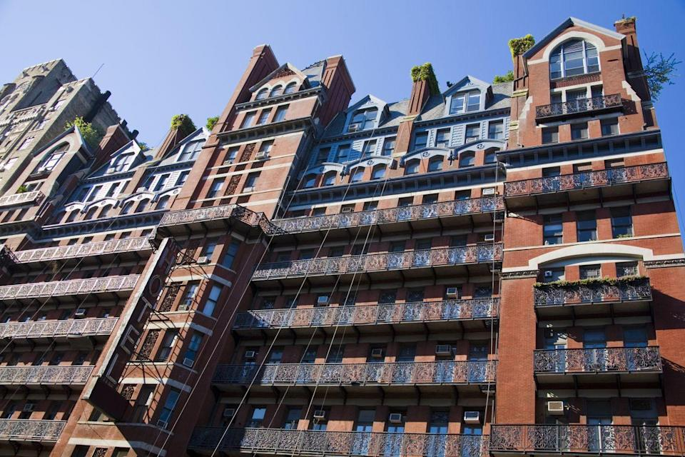"<p>New York's Hotel Chelsea has nearly as many famous ghosts as it does famous guests—and their stories are pretty gruesome. Within its red brick walls, Sid Vicious's girlfriend was stabbed to death back in 1978, and even further back, in 1953, Dylan Thomas died of pneumonia as a guest here. If you're cool with A-list ghosts though, by all means, book a room!</p><p><a class=""link rapid-noclick-resp"" href=""https://go.redirectingat.com?id=74968X1596630&url=https%3A%2F%2Fwww.tripadvisor.com%2FAttraction_Review-g60763-d312017-Reviews-Chelsea_Hotel-New_York_City_New_York.html&sref=https%3A%2F%2Fwww.countryliving.com%2Flife%2Ftravel%2Fg2689%2Fmost-haunted-hotels-in-america%2F"" rel=""nofollow noopener"" target=""_blank"" data-ylk=""slk:PLAN YOUR TRIP"">PLAN YOUR TRIP</a></p>"