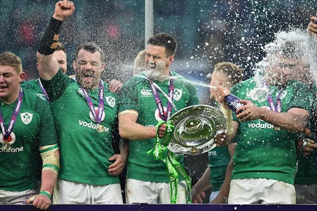 Success in the Six Nations is a tribute to the way Ireland manage workload (AFP Photo/Glyn KIRK )
