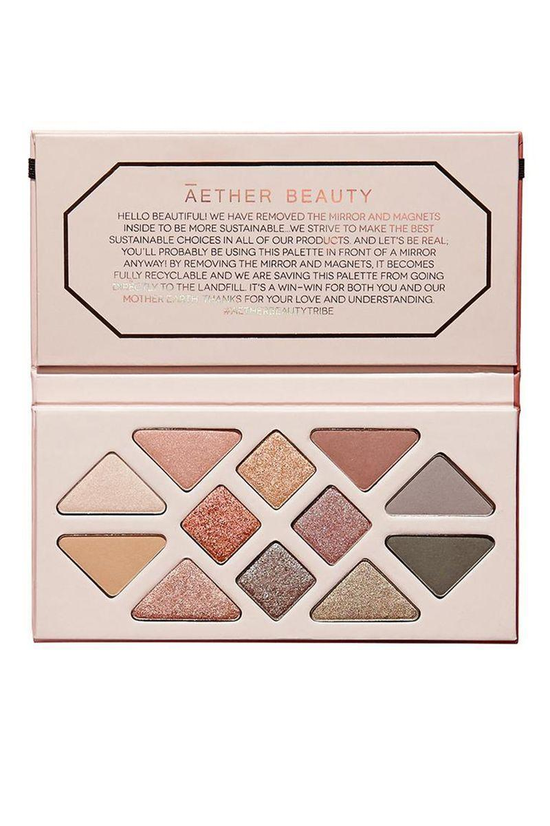 "<p><strong>Rose Quartz Crystal Gemstone Palette</strong></p><p>aetherbeautyco.com</p><p><strong>$58.00</strong></p><p><a href=""https://aetherbeautyco.com/products/rose-quartz-crystal-gemstone-palette"" rel=""nofollow noopener"" target=""_blank"" data-ylk=""slk:Shop Now"" class=""link rapid-noclick-resp"">Shop Now</a></p><p>Now through Cyber Monday, get 30% off sitewide and a free single Topaz Eyeshadow on orders over $75 with code ""THANKFUL.<br></p>"