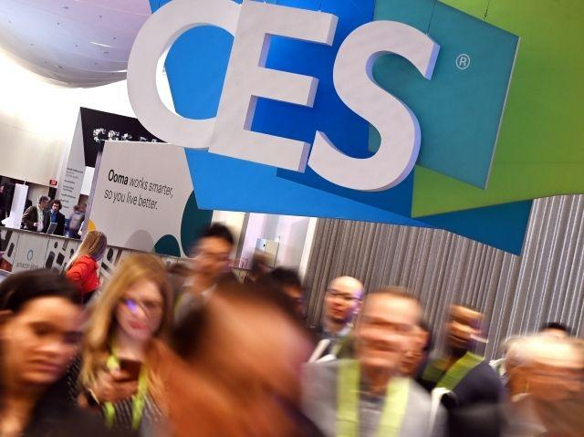 Amid tech turmoil, celebration at global electronics show