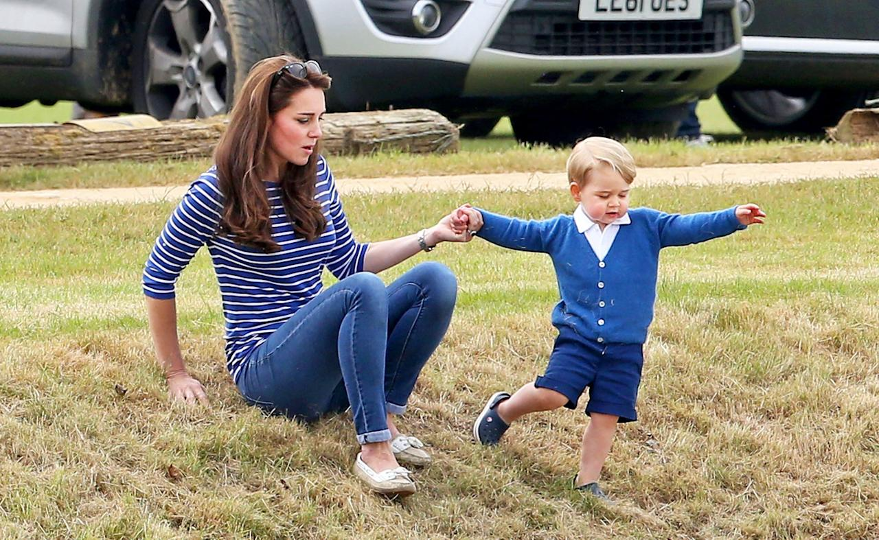 "<p>""Royals, they're just like us!"" You've seen that headline enough to sometimes doubt it's authenticity. But never has this rang truer than when it comes to jeans. Like the rest of us, royal women wear, maybe even hoard, denim. Kate Middleton loves her skinny jeans while the Queen of Spain prefers a little flare. The Duchess of Cambridge has worn them on numerous occasions to public events and outings, as has her newly minted sister-in-law. So where do royals buy their go-to demin? We did a little research to find the exact brands and styles, and where we couldn't, we found similar options. Happy shopping!</p>"