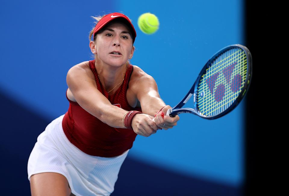 Belinda Bencic secured her spot in the final with a win over Elena Rybakina (Getty Images)