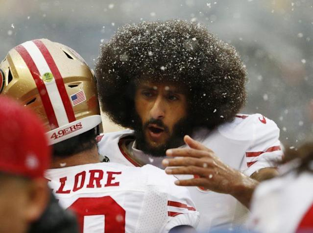 Colin Kaepernick remains an unsigned free agent. (AP)