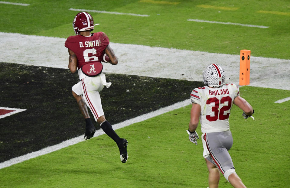DeVonta Smith Alabama
