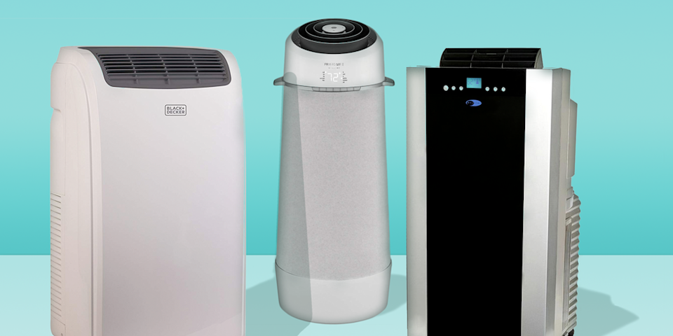 """<p>If you don't have central air and need to cool a room ASAP, the first question you have to address is whether you want to buy a portable AC unit or <a href=""""https://www.goodhousekeeping.com/appliances/g21271467/best-window-air-conditioners/"""" rel=""""nofollow noopener"""" target=""""_blank"""" data-ylk=""""slk:a window air conditioner"""" class=""""link rapid-noclick-resp"""">a window air conditioner</a>. A portable air conditioner is the best route if you can't install a window air conditioner in your space because of design limitations or building restrictions. It's also a better pick if you'd like a mobile air conditioning unit that can be moved from room to room or stored away at the end of the season. </p><p>The experts at the <a href=""""https://www.goodhousekeeping.com/institute/about-the-institute/a19748212/good-housekeeping-institute-product-reviews/"""" rel=""""nofollow noopener"""" target=""""_blank"""" data-ylk=""""slk:Good Housekeeping Institute"""" class=""""link rapid-noclick-resp"""">Good Housekeeping Institute</a> rounded up the best portable air conditioners on the market based on categorical expertise from brands we trust, love, and use. Since the onset of the pandemic we have road tested nearly 24 models, and reviewed documentation on newer variants of ones we've previously reviewed. We look to see how easy they are to set up, how efficiently they cool a space, and how intuitive they are to operate and maintain. The following models were selected because they are efficient at cooling and cutting down on high humidity and easy to use and install. We updated this guide in August 2021 to replace any sold-out products. These picks still reflect our top picks from our most recent test by Chief Technologist Rachel Rothman. Here are the <strong>best portable air conditioners you can buy:</strong></p><ul><li><strong>Best Overall Portable Air Conditioner:</strong> <a href=""""https://www.amazon.com/Whynter-ARC-14S-Conditioner-Dehumidifier-Activated/dp/B0028AYQDC?tag=syn-yahoo-20&ascsubtag=%5Bartid%7C10055.g.2"""