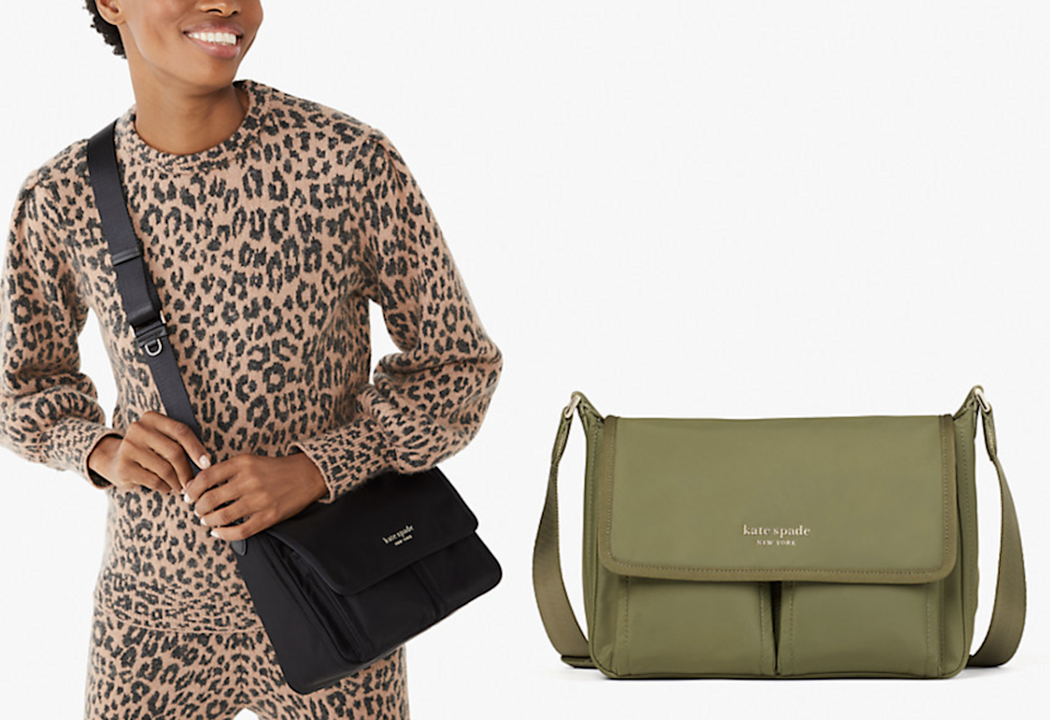 You can take this crossbody messenger bag almost anywhere.