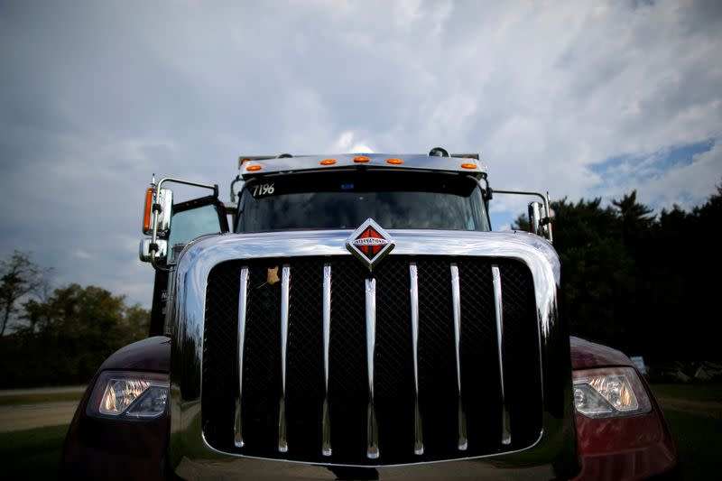 FILE PHOTO: A Navistar HX Series truck is photographed at the Navistar Proving Grounds in New Carlisle