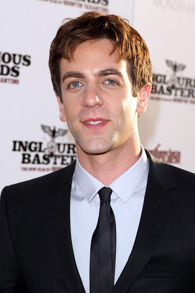 "<a href=""http://movies.yahoo.com/movie/contributor/1807599058"">BJ Novak</a> at the Los Angeles premiere of <a href=""http://movies.yahoo.com/movie/1808404206/info"">Inglourious Basterds</a> - 08/10/2009"