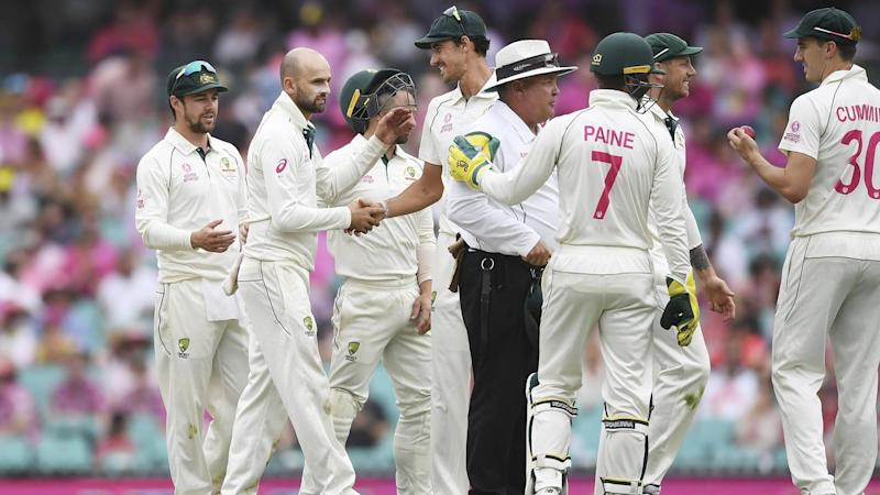 Nathan Lyon's five-wicket Test haul at the SCG maintained Australia's dominance over New Zealand