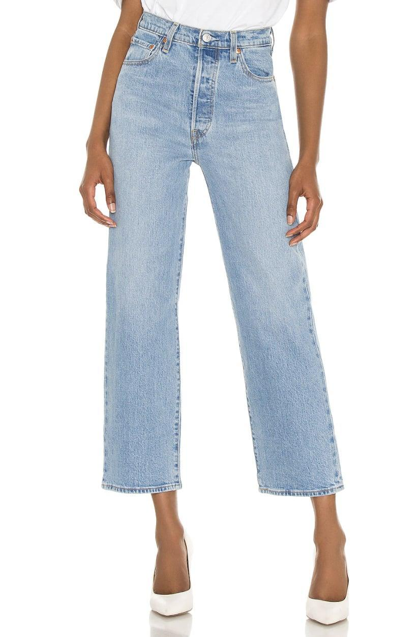 <p>I can personally vouch for these <span>Levi's Ribcage Straight Ankle Jeans</span> ($100) - after some of my favorite TikTok users recommended them, I bought a pair for myself. Now they're all I ever want to wear; they make my flat butt look amazing.</p>