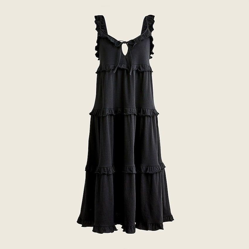 """<br><br><strong>J. Crew</strong> Tiered knit keyhole maxi dress, $, available at <a href=""""https://go.skimresources.com/?id=30283X879131&url=https%3A%2F%2Fwww.jcrew.com%2Fp%2Fwomens%2Fcategories%2Fclothing%2Fdresses-and-jumpsuits%2Ftiered-knit-keyhole-maxi-dress%2FBB453%3Fdisplay%3Dstandard%26fit%3DClassic%26color_name%3Dwhite%26colorProductCode%3DBB453"""" rel=""""nofollow noopener"""" target=""""_blank"""" data-ylk=""""slk:J. Crew"""" class=""""link rapid-noclick-resp"""">J. Crew</a>"""