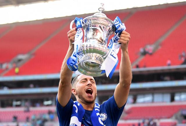 Eden Hazard hints at Chelsea stay with Premier League title warning for Manchester City