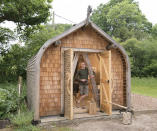 <p>WORKSHOP & STUDIO:<br>Viking Bauhutte – owned by Chris Walter in Hampshire (Picture: Shed of the Year) </p>