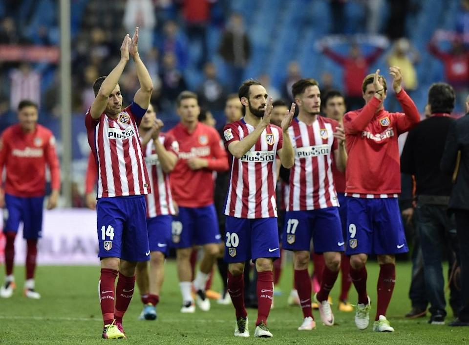 Atletico Madrid have recorded 35 clean sheets in 56 games this season (AFP Photo/Javier Soriano)