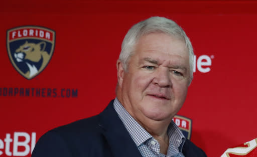 Dale Tallon, after 10 seasons, out as Florida Panthers' GM