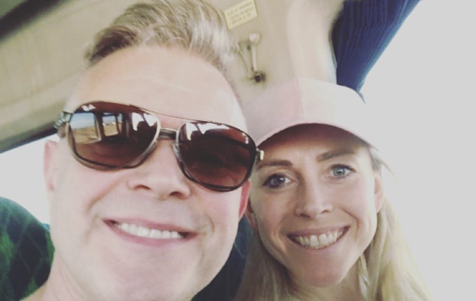 Darren Day has popped the question to Sophie Ladds. (Instagram/Darren Day)