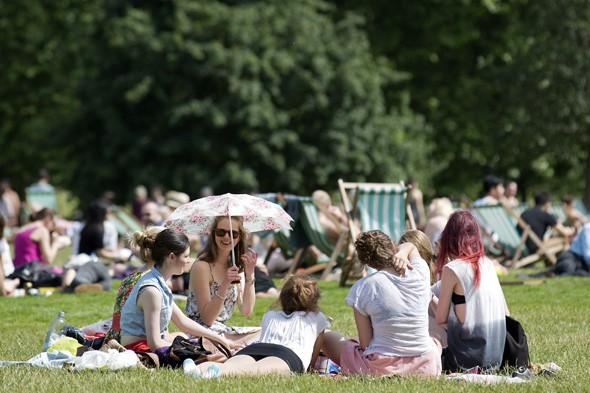 Britain set for two weeks of hot summer weather