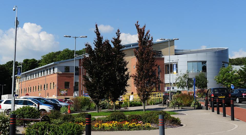 A general view showing the University Hospital of North Durham, County Durham.