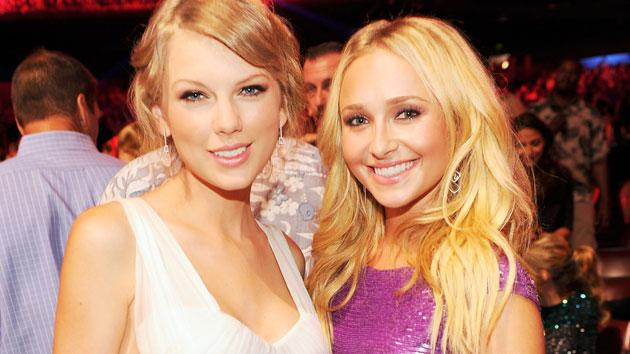 Taylor Swift and Hayden Panettiere