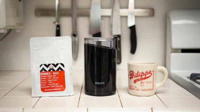 Best coworker gifts 2020: Krups Fast Touch Electric Coffee Grinder