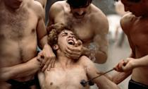 <p>Dir: Pier Paolo Pasolini<br>The film is a loose adaptation of the book, <em>The 120 Days of Sodom</em> by Marquis de Sade, and follows four Libertines and the four months of extreme violence, sadism, sexual and mental torture they inflict on 18 teenagers over four months. This includes rape and forcing the victims into eating feces. Horrific. </p>