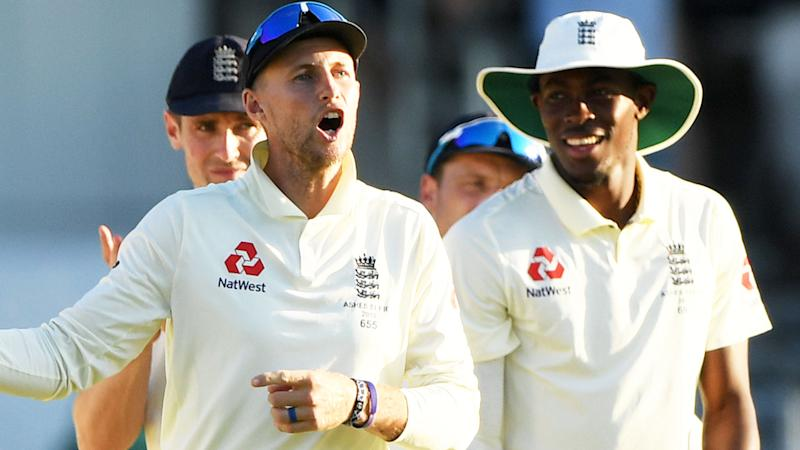 Joe Root and Jofra Archer, pictured here during the third Ashes Test.