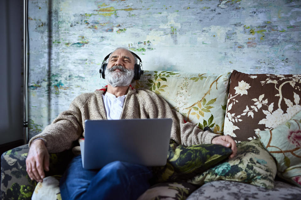 Just relax with Amazon Music Unlimited for only $1 per month for four months. (Photo: Getty Images)