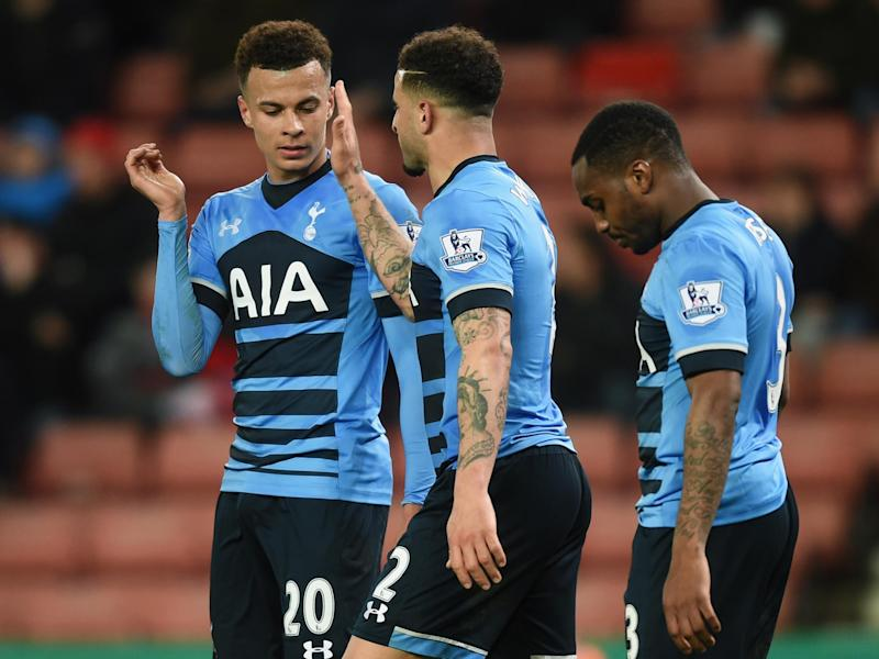 City are interested in three of Tottenham's English players: Getty