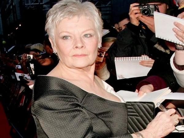 Judi Dench (Image Source: Instagram)