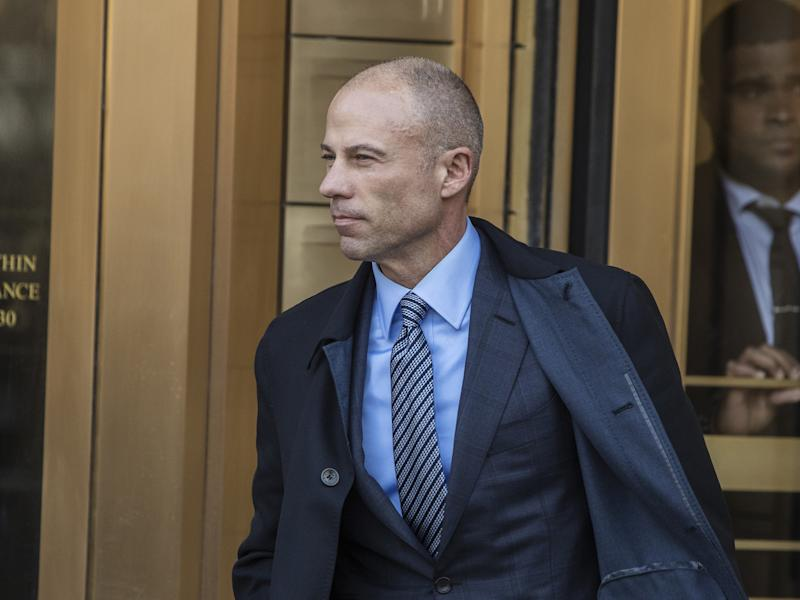 Michael Avenatti in Los Angeles police custody