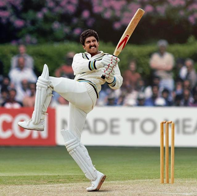 The buzz about Ranveer Singh essaying Kapil Dev in the cricketer's bio-pic had been making rounds since quite a while, but it was only after the actor shared this pic from the movie, on his Instagram handle, that we came to realize the precision with which Ranveer has executed his job. It is going to be difficult to wait till the movie releases.