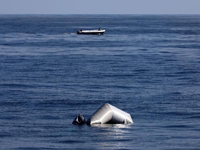 Latest disaster comes days after two dinghies found sunk in the Mediterranean Sea: Reuters/Yannis Behrakis
