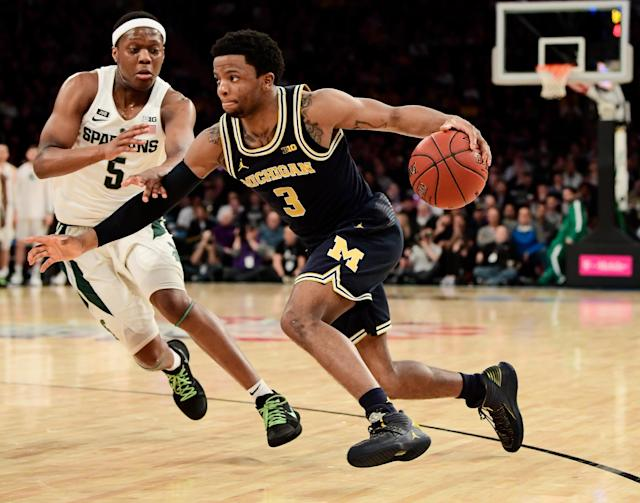 Michigan went 2-0 against Michigan State this year, but both make our list of opponents to fear in March. (Getty)