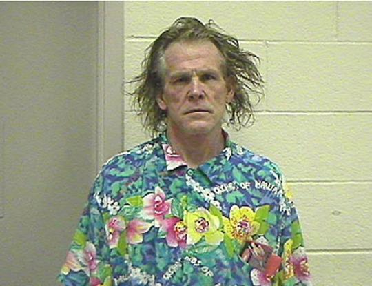 Nick Nolte Nolte was busted for DUI in 2002 in California. The result was this incredible (and disturbing) bleary-eyed mug shot.