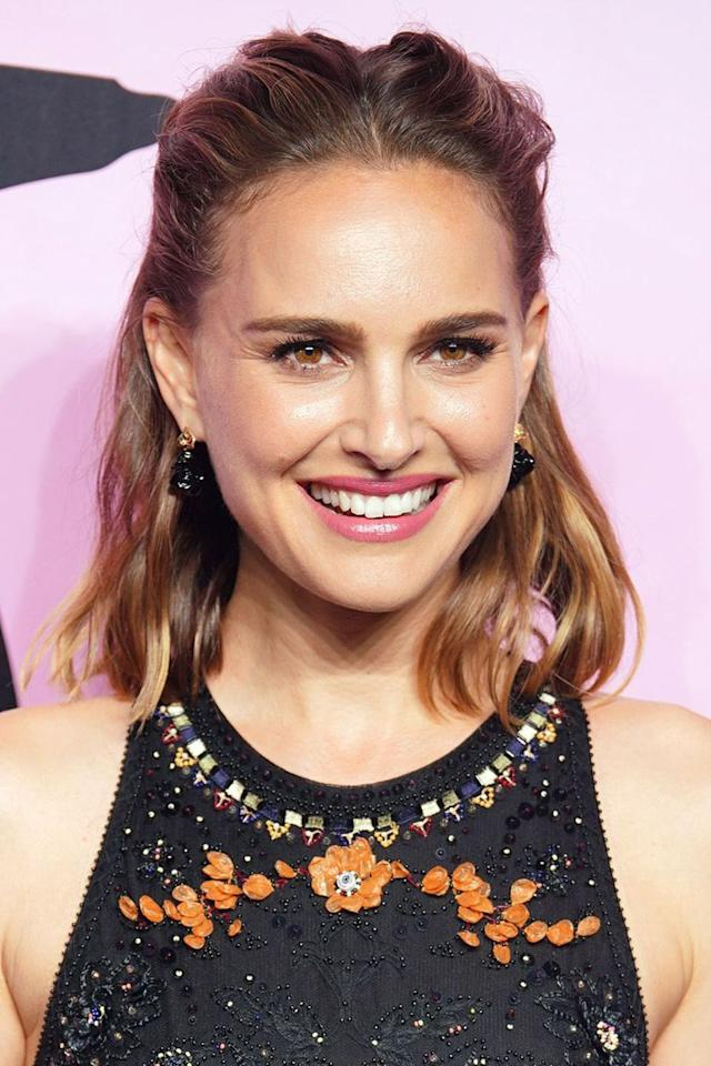 """<p>The trick to achieving a glowing complexion, like Natalie Portman's on the red carpet , is to not only use a radiance-boosting base, such as L'Oreal Paris' <a href=""""https://www.feelunique.com/p/LOreal-Paris-Glow-Cherie-Natural-Glow-Enhancer-Lotion-30ml?"""" target=""""_blank"""">Glow Cherie Natural Glow Enhancer</a>, but to team it with a similarly glossy lip colour. Try Dior's <a href=""""https://www.dior.com/en_gb/products/beauty-Y0028808-dior-addict-lacquer-stick-liquified-shine-saturated-lip-colour-weightless-wear"""" target=""""_blank"""">Dior Addict Lacquer Stick in Palm Beach</a>.</p>"""